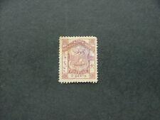 North Borneo 1886 2c brown SG25 GU