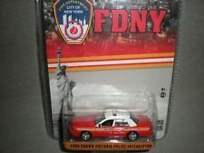 1/64th Greenlight FDNY Ford Crown Victoria Police Interceptor