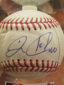 wilson ramos signed baseball autographed ball romlb auto mlb new york mets ny