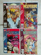 The Wolverine Saga (#1-4) NM