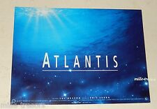 Collector ATLANTIS Luc BESSON Invitation projection au GRAND REX Avant Première