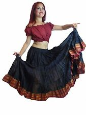Women's ATS Belly Dance 25 Yard Cotton Maxi Skirt - ATS Dance skirts