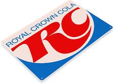 TIN SIGN Rc Royal Crown Retro Cola Sign Coke Soda Bar Kitchen Cottage Cave A154