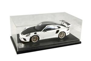 NEW Porsche 911 GT3 RS Type 991-2 Blanc - 1/12 Spark WAP0231690K NEW