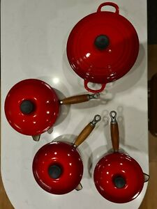 Le Creuset Pan Set and Casserole Dish
