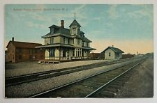 NJ Bound Brook New Jersey Multi View Lot of Four Fire Houses Postcard