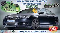 Steering Lock Module 4F0905852B Repair Kit For Audi A6 C6 Q7 2004-2009