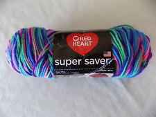 Bright Mix Red Heart Super Saver 5 oz 236 yds Skein 100% Acrylic Worsted Weight