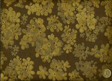 Crypton® Architex Krista Chocoholic Retro Cottage Floral Upholstery Fabric