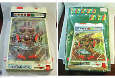 FLIPPER GIOCATTOLO VINTAGE ELECTRONIC PINBALL TOY Formula 1