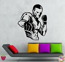 Wall Stickers Vinyl Decal MMA UFC Cage Figther Martial Arts   (z1959)