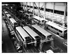 1974 AM General Transit Bus Production Factory Photo uc6035