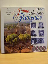 ++ J'AIME LA CHANSON FRANCAISE * Coffret 4 CD * TBE