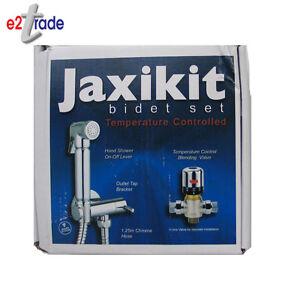 Jaxi Thermostatic Chrome Brass Hand Held Bidet Spray Kit / Shower Shattaf JAXI