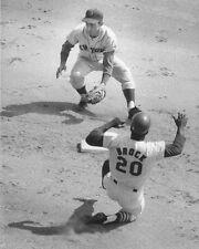 1968 St Louis Cardinals LOU BROCK Glossy 11x14 Photo Major League Baseball Print
