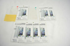 7x Clear Front+Back Screen Shield Protector Film FULL BODY For APPLE iPhone 4 4S