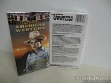 VHS THE GREAT AMERICAN WESTERN 4 MOVIES BRAND NEW
