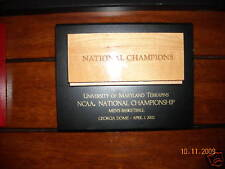 lot of 20 Maryland Terrapin NCAA Champ plaques 2002