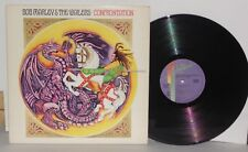 BOB MARLEY AND THE WAILERS Confrontation LP Vinyl Gatefold Buffalo Soldier 1983