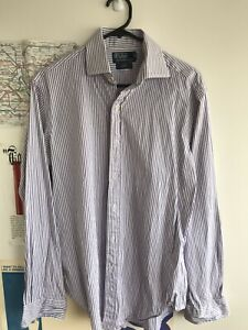 Polo Ralph Lauren Men's Regent-Fit Button Up Long Sleeve Shirt ~ Size L