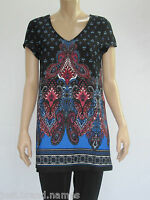 Crossroads Ladies Cap Sleeve Cut Out Back Tunic Top sizes 8 10 12 14 16 18 20 22