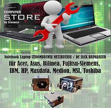Notebook STROMBUCHSE NETZBUCHSE / DC JACK REPARATUR für Acer, Asus, HP, Toshiba
