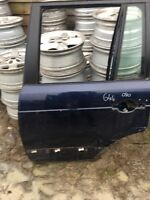 RANGE ROVER L322 N/S Rear Drivers Door Oslo blue 644 02 Upwards