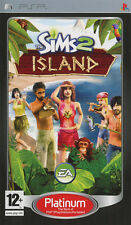 The Sims 2 Island Platinum SONY PSP IT IMPORT ELECTRONIC ARTS