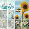 DIY Paint By Number Kit Digital Oil Painting Simple Flower Home Art Wall Decor