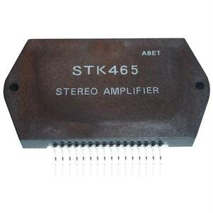 Hybrid IC STK465 80x45mm Stereo Power amplifier