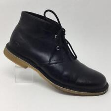 UGG Black Leighton Chukka Ankle Boots Mens 9.5 Lace Up 3275