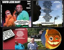 David Liebe Hart (of Tim & Eric): Funny Jokes & Stories CD/MP3's/video/sticker