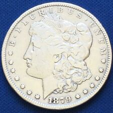 1879-S Morgan Silver Dollar 90% Silver $1 Better Date #B67