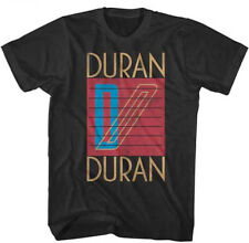 Duran Duran-Classic Distressed Logo-XXL Black T-shirt