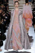 Missoni orange label crochet  nora dress long sleeve maxi dress 42 6 8 $2545