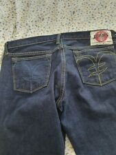 Yen Japanese Selvedge Denim Blue Jeans Size:W36 / L34 Great Condition *See Desc'