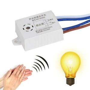 Module 220V Detector Sound Voice Sensor Intelligent Auto On Off Light smart Swit