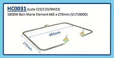 1800W Bain Marie Element 665 x 270mm (Vl71B000) E23 C23 Bm23 Hc0031