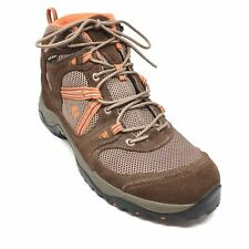 Women's Garmont Gore-tex Hiking Boots Shoes Size 9.5 M Brown Orange Outdoor U4