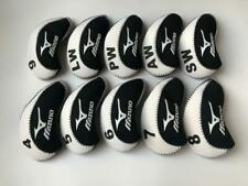NEW 10X White&Black Club Covers for Mizuno Iron Headcovers 4-LW Velco Protector