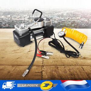Pompe de pression 12V de kit de gonfleur de pneu de voiture du compresseur