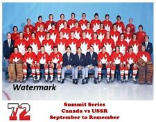 NHL 1972 Summit Series Team Canada Color Picture 8 X 10 Photo Pic