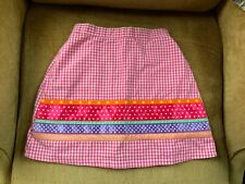 Vintage girl skorts pink  and white size 4
