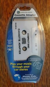 Wireless Gear Cassette Adapter Music Car Stereo iPhone iPod  3.5mm-Lot of *2 -F1