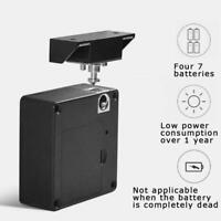 Keyless Door Locker Invisible Electronic Rfid Cabinet Hidden Lock Drawer Pr O7Q4