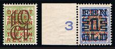 NIEDERLANDE 136/7 * = NETHERLANDS Scott #135/6 mlh = PAYS-BAS Yvert 129/30 neuf