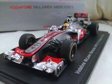 Voitures de courses miniatures en résine McLaren