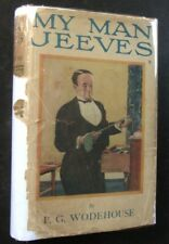 P. G. Wodehouse, My Man Jeeves, 1919 1st Edition in Original Dust Jacket