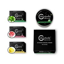 Naturally Activated Charcoal Teeth Whitening Powder - Whiter Teeth Brighter :)