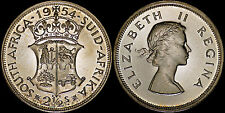 SOUTH AFRICA 2-1/2 SHILLINGS 1954 (GEM PROOF) *PREMIUM QUALITY*
